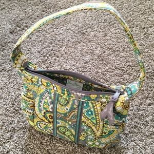 "Vera Bradley Handbag in ""Lemon Parfait"""